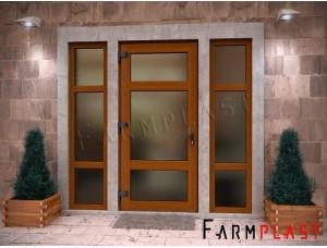 External PVC Doors EDA-1