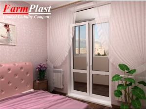 Balcony Doors EDP-3