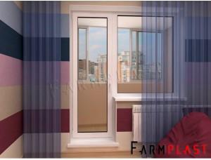 PVC Doors EDP-7