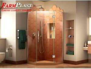 Corner showers LP-5